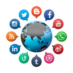 Have Fun with Social Media (Facebook, Twitter, Blog, Search Engine,etc)