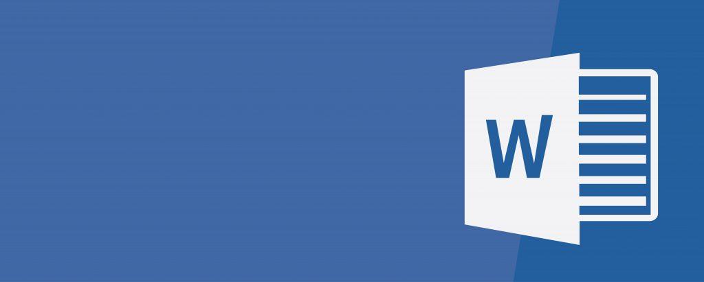 Microsoft software logos word